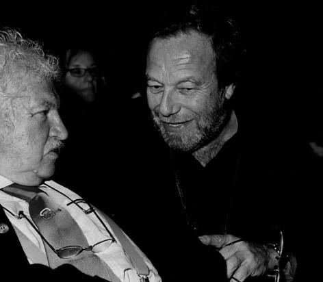 Con Bruno Lauzi in teatro - Teramo 2004 - Foto Mariacristina Di Giuseppe