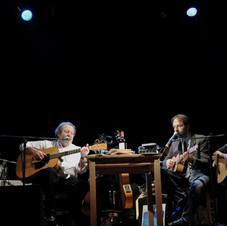 Edoardo con Lucilla Galeazzi, Neri Marcorè e Guido Benigni - Teatro Ambra (Roma) - 2011 - Foto Mariacristina Di Giuseppe