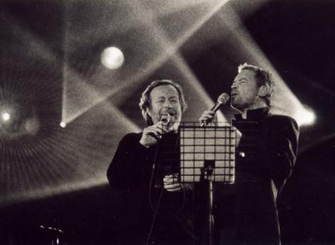 Con Franco Simone al concerto di Videoitalia - 2003 - Foto di scena