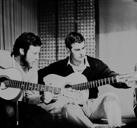Edoardo e Stelio - Cordino 1969 - Foto Peppe D'Arvia