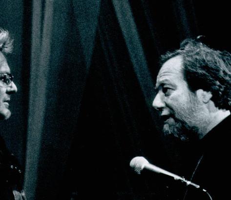 Edoardo e Ron in teatro - Viterbo 2004 - Foto Mariacristina Di Giuseppe
