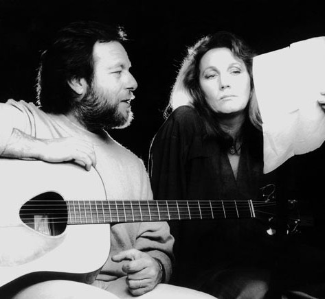 Edoardo ed Annie Robert nel videoclip di Notte di settembre - 1994 - Foto Peppe D'Arvia