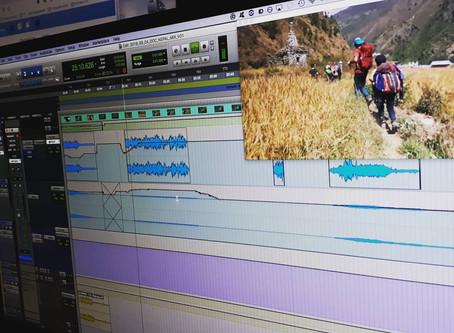 Mixage d'un documentaire sur le Tibet