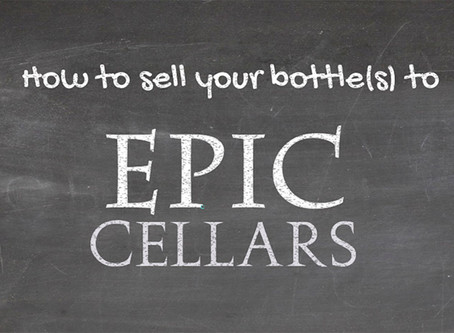 How to sell your wine and whiskeys with Epic Cellars: 4 easy steps