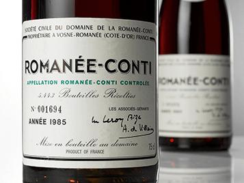 Romanee Conti serial number