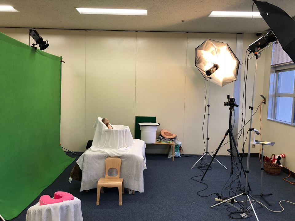 Pacific Student Photos Day Care Setup