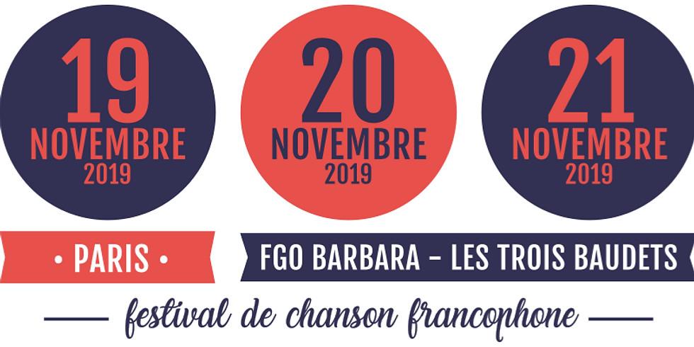 Francoeur - Festival Fédéchansons 2019