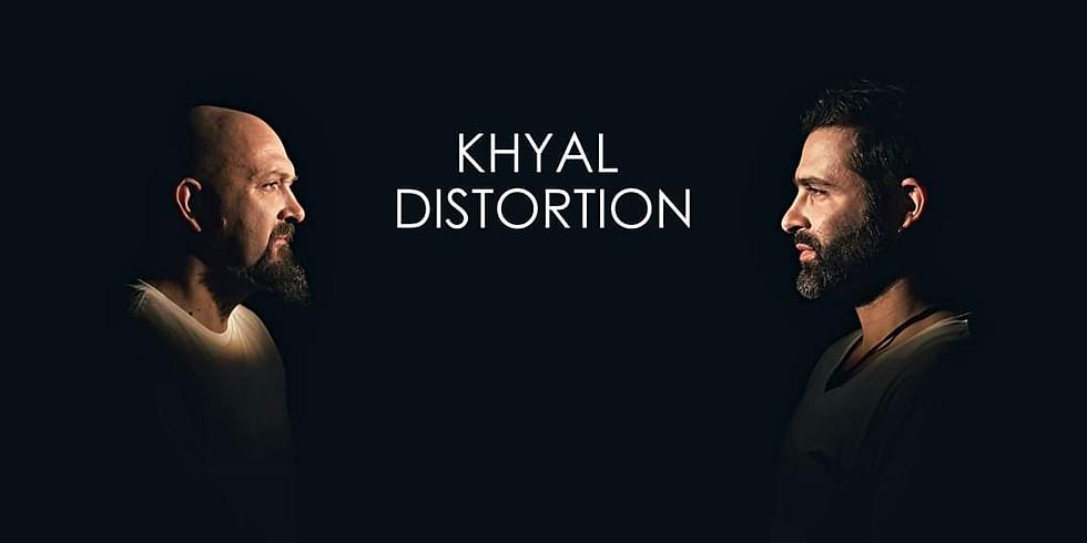 Khyal Distortion en concert