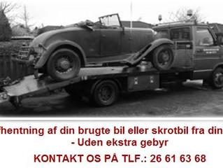 Skrotbil / Skrotpræmie / Skrotbiler / Skrotpriser / Skrot din bil / Skrotbilpris