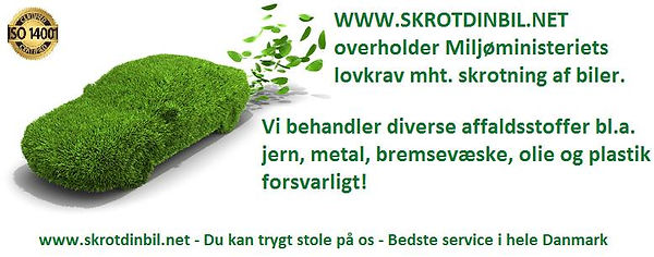 Danmarks højeste skrotpræmie på din skrotbil