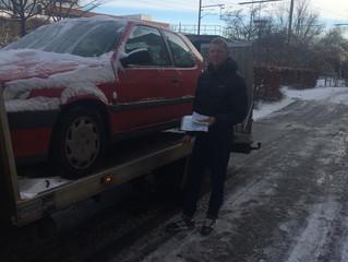 Hvorfor du skal skrotte din bil hos os! Høj Præmie