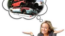 Skrot din bil nu skrotpræmie op til 100.000