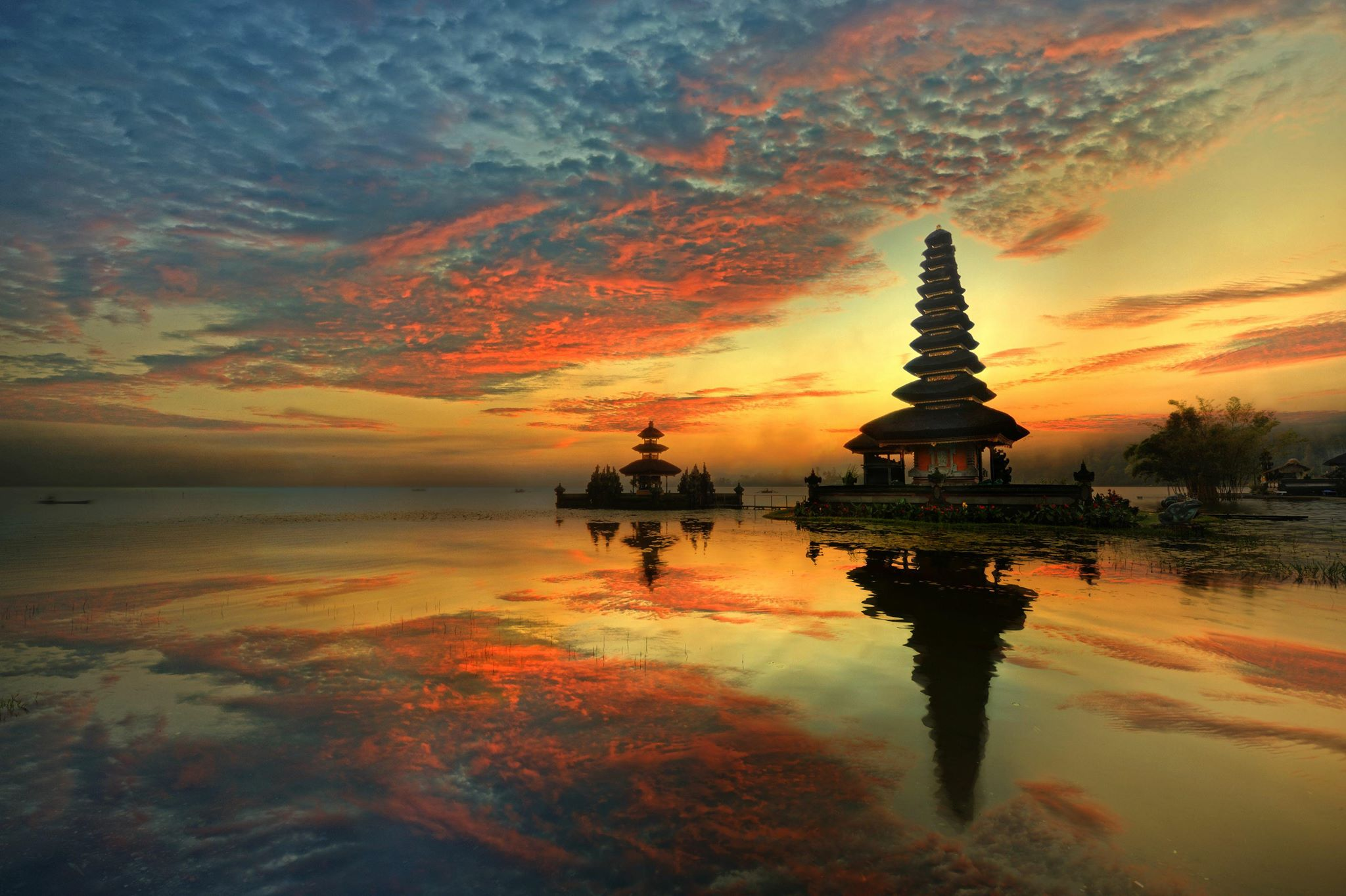 Temple at Dawn