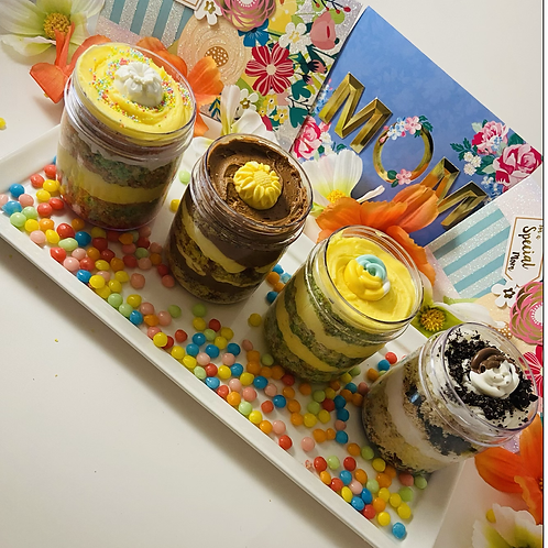 Mother's Day Cake Jars