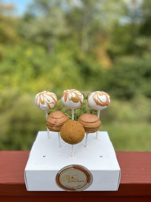 French Vanilla Cakepops