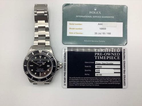 Rolex Sea Dweller circa 1998