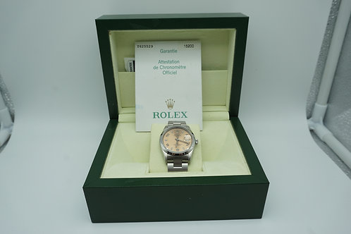 Rolex stainless steel date Bronze dial