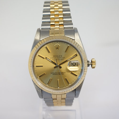 Rolex Bi-Metal Datejust 36mm   circa 1994