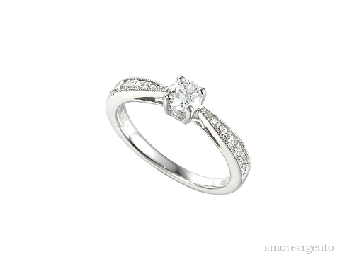 It's Love Sterling Silver Ring