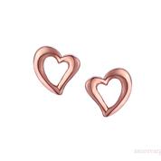 Love & Kisses Blush Heart Earrings