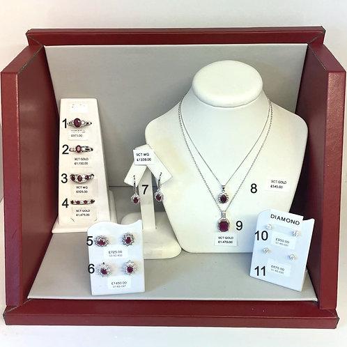 BOX 2 - Ruby Jewellery