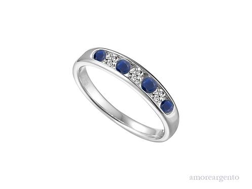 Everlasting Sapphire Ring