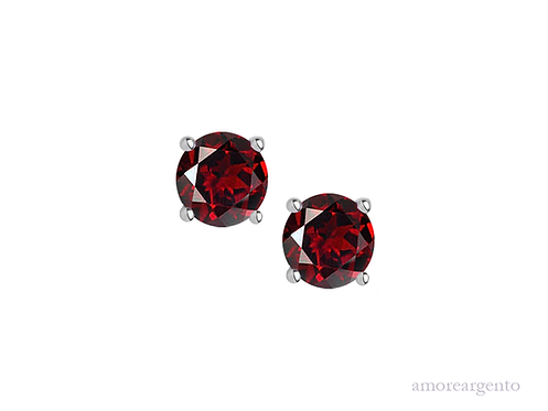 Garnet Purity Earrings