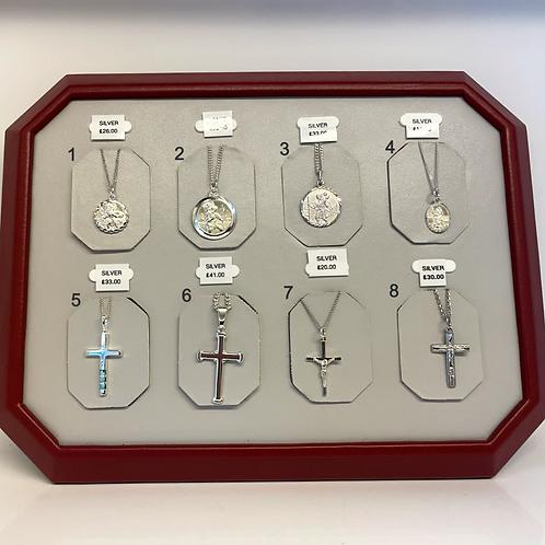 St Christopher's & Crosses