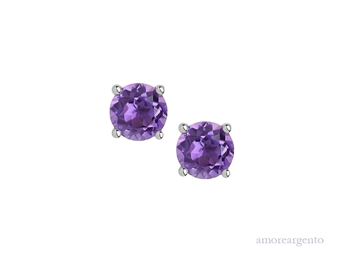 Amethyst Purity Earrings