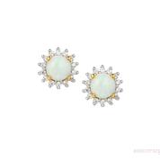 Opal Shimmer Earrings