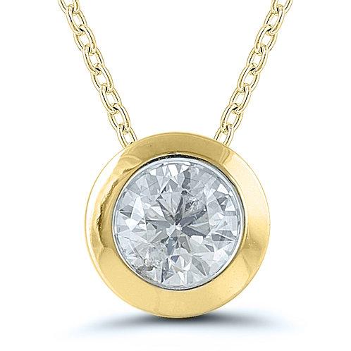 Certified Diamond Pendant