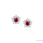 Classico Ruby Earrings