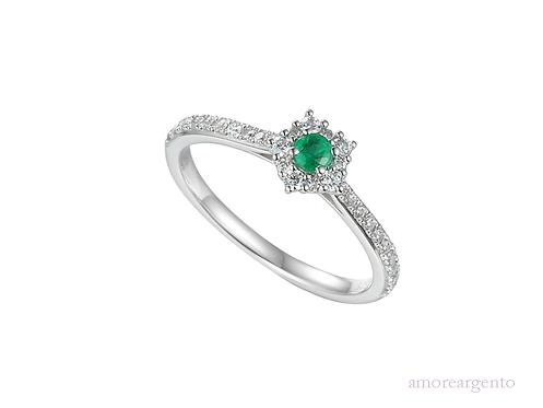 Classico Emerald Ring