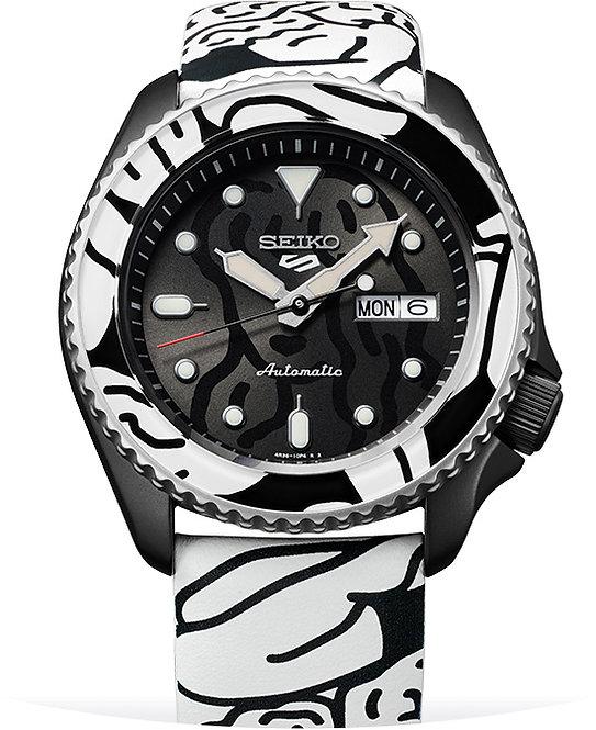 Seiko Limited Edition 5 Sports Auto Moai Watch SRPG43K1