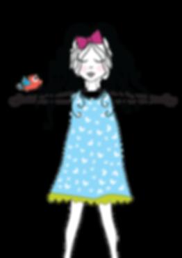 ציור של ילדה