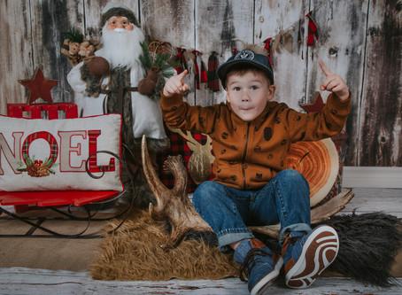 Bien se préparer aux mini-séances de Noël intérieures