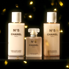 CHANEL No.5 HOLIDAY BODY LINE