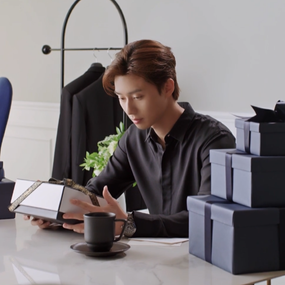 CHANEL GIFT FOR HIM X Park Seo Jun