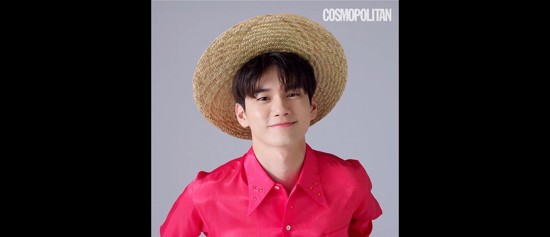COSMOPOLITAN x ONG SEONG WU
