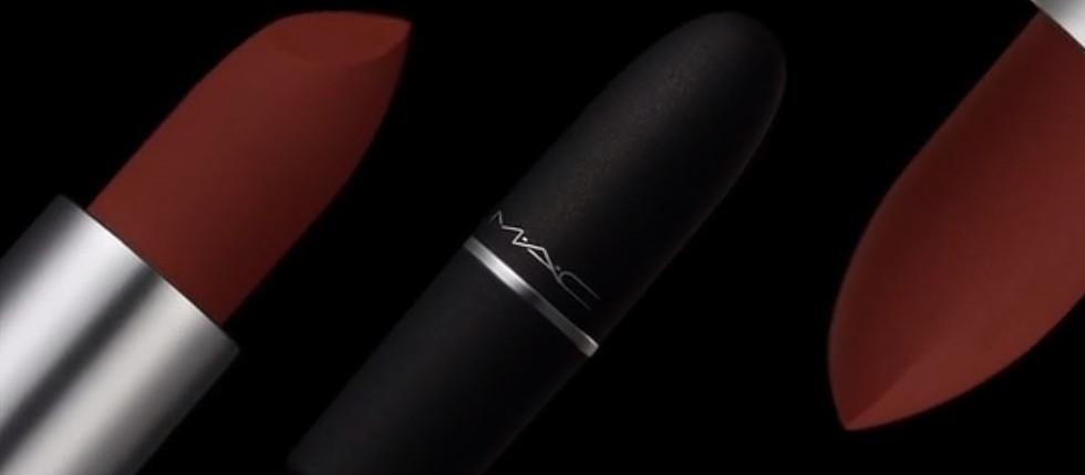 MAC Lipstick│Powder Kiss