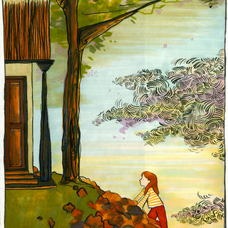 From 'The Whisper That Never Was' written and illustrated by Kemi Pennicott