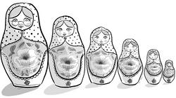 Matryoshka from 'Twin Tales'