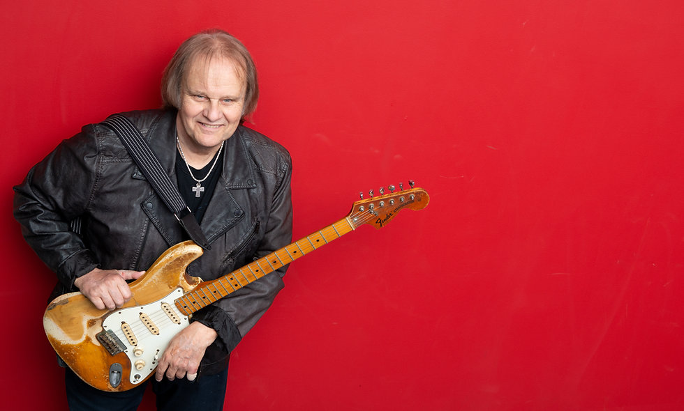 Private 30 Minute Guitar Lessons* with Walter Trout