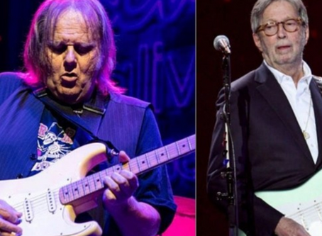 Walter Trout Names Guitarist Whose Shoes He Was More Intimidated to Fill Than Eric Clapton's, Talks