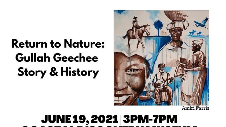 """Reception Honoring """"Return to Nature: Gullah Geechee  Story & History"""" Exhibit"""