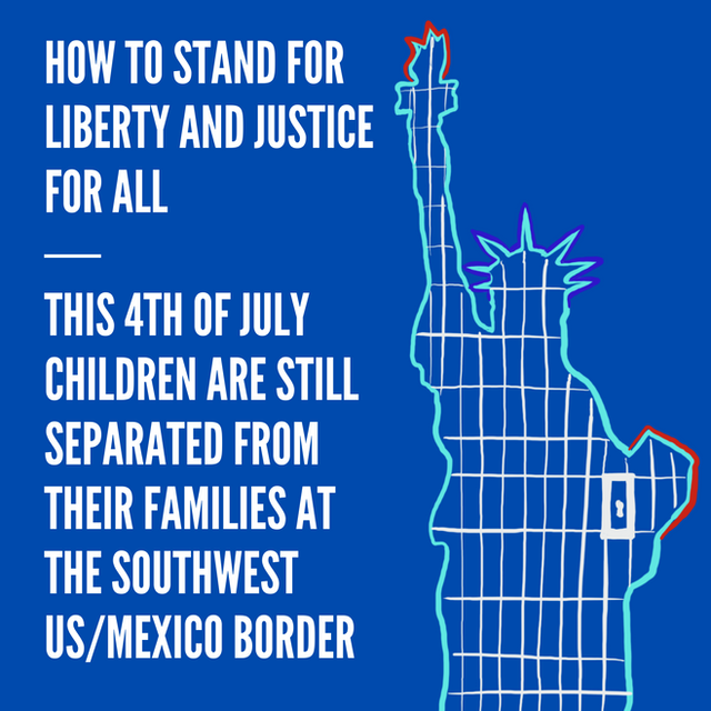 Children Separation & 4th of July