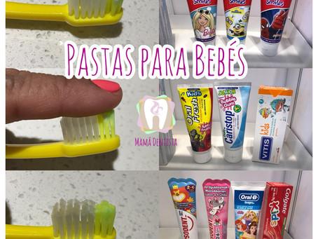 Pastas de Dientes para Bebés