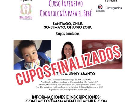 Curso Intensivo Odontología del Bebé, Cupos Agotados.