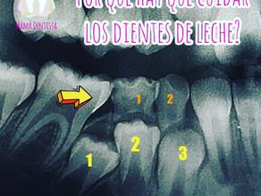 Porqué hay que cuidar los dientes de leche?