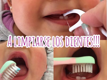 A limpiarse los dientes!